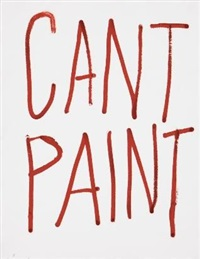 cant paint [sic] by ed young